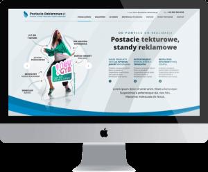 Postacie reklamowe - standy z tektury Poznań